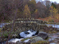 england english lake district ashness bridge