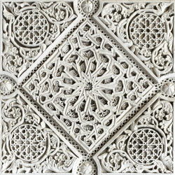 andalusia white moorish stone  carving 250px