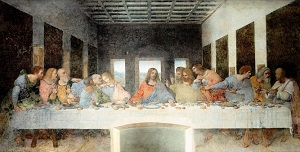 painting the last supper