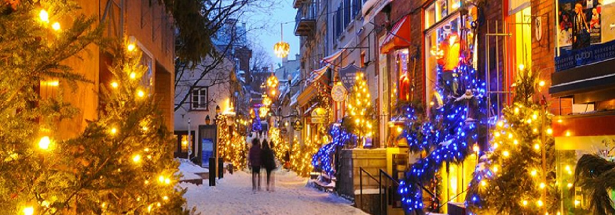 A Magical Christmas in Old Quebec City - Dec 21, 2019