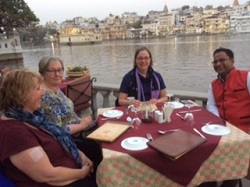 India Lake Pichola dinner