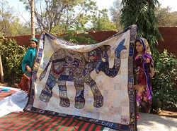 India ranthambore village craft